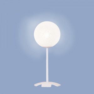 Lumen Center - Iceglobe Micro - Iceglobe Micro 03 LT - Tischlampe mit kugelförmigem Diffusor - Weiß matt - LS-LC-IGW03106