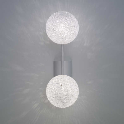 Lumen Center - Iceglobe Micro - Iceglobe Micro A2 AP - Lampe mit 2 Elementen - Weiß matt - LS-LC-IGWA2106