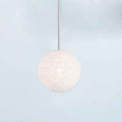 Lumen Center - Iceglobe Micro - Iceglobe Micro S-I SP - Einbau-Pendelleuchte - Weiß matt - LS-LC-IGW33I106