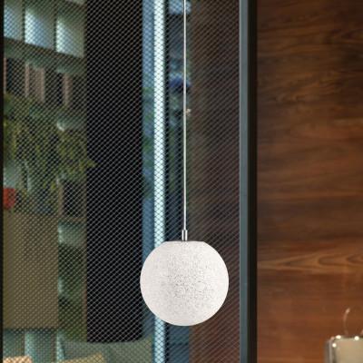Lumen Center - Iceglobe Mini - Iceglobe Mini SP S - Pendelleuchte - Nickel satiniert - LS-LC-IG33P