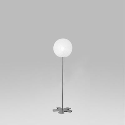 Lumen Center - Iceglobe - Iceglobe 10 PT S - Design-Stehleuchte - Nickel satiniert - LS-LC-IG10
