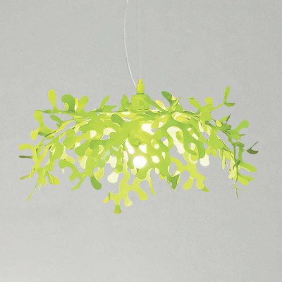 Lumen Center - Leaves - Leaves SP S - Pendellampe aus Metall - Grün - LS-LC-LEA33119