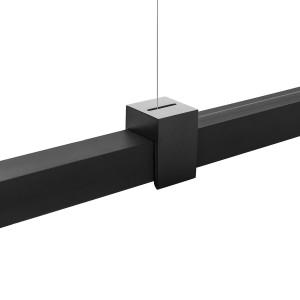 Lumen Center - Sibylla - Sibylla M SP - LED-Hängelampe mit einstellbare Lichtintensität - Schwarz -  - Warmweiss - 3000 K - Diffused