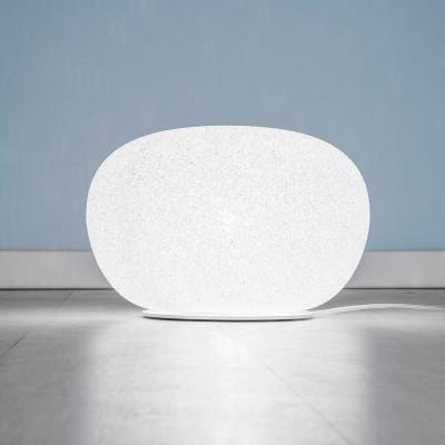Lumen Center - Sumo - Sumo 02 LT TE - Tisch- oder Bodenlampe aus Polycarbonat - Weiß matt - LS-LC-SUM02S
