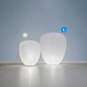 Lumen Center - Sumo - Sumo L X02 LT TE - Stehlampe mit einstellbarer Helligkeit - Weiß matt - LS-LC-SUM02X