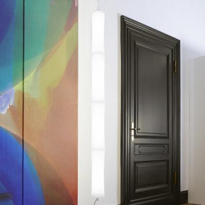 Lumen Center - Takè Plus - Také Plus BT S&P 04 SP - Boden- und Deckenleuchte mit vier LED-Elemente - Weiß matt - LS-LC-TAK364106