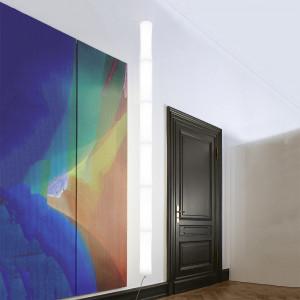 Lumen Center - Takè Plus - Také Plus S&P 06 SP - Boden- und Deckenleuchte mit sechs LED Elemente - Weiß matt - LS-LC-TAK366106