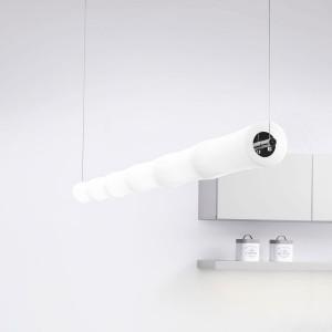 Lumen Center - Takè Plus - Také Plus S6 SP - LED-Hängelampe mit sechs Elemente - Chrom - LS-LC-BAM336150
