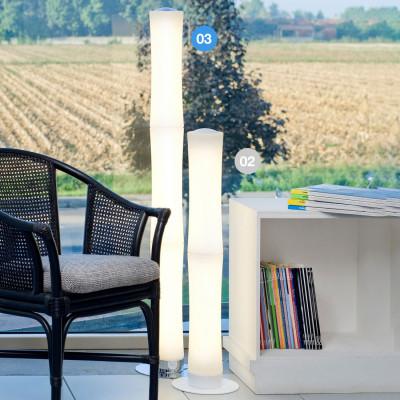 Lumen Center - Takè Plus - Také Plus Touch 03 PT - LED-Bodenlampe mit drei Polyethylen Elemente