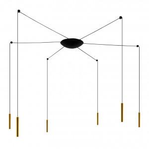 Ma&De - 2Nights - 2Nights P6 SP LED - Designer Kronleuchter mit sechs Lichtern