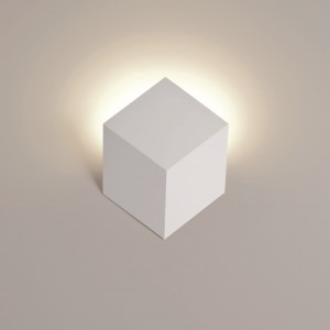 Rotaliana - QB - QB W0 AP LED - Moderne kubik Wandlampe