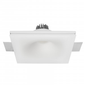 Traddel - Wall or ceiling recessed lamp - Gypsum Eye1 FA LED - Gips LED-Einbauleuchte