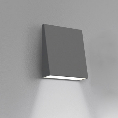 Artemide - Artemide Outdoor - Cuneo AP TE LED - Outdoor lamp - Anthracite - LS-AR-T082720 - Warm white - 3000 K - Diffused