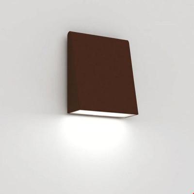 Artemide - Artemide Outdoor - Cuneo AP TE LED - Outdoor lamp - Rust - LS-AR-T082710 - Warm white - 3000 K - Diffused