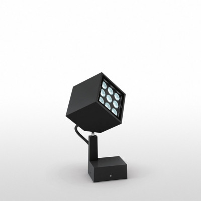 Artemide - Artemide Outdoor - Epulo 13 FA LED - Basic spotlight - Black - Warm white - 3000 K