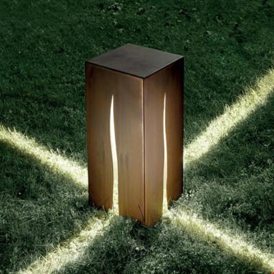 Artemide - Artemide Outdoor - Granito 60 TE - Outdoor floor lamp - Cor-ten steel - LS-AR-T083100