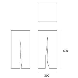 Artemide - Artemide Outdoor - Granito 60 TE - Outdoor floor lamp