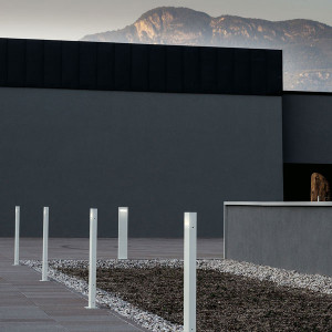 Artemide - Artemide Outdoor - Nuda 100 TE2 LED - Bollard for outdoors double light emission