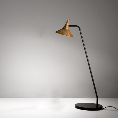 Artemide - Conical Collection - Unterlinden TL LED - Design table lamp - Brass - LS-AR-1946W10A - Super warm - 2700 K - Diffused