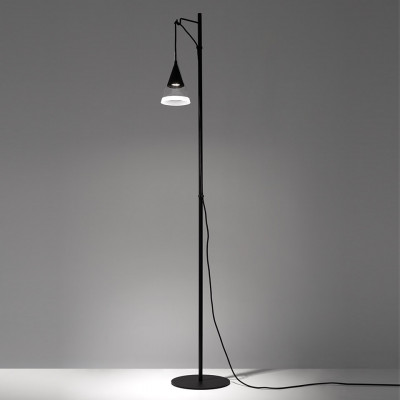 Artemide - Conical Collection - Vigo PT - Modern floor lamp - Black - LS-AR-1941030A