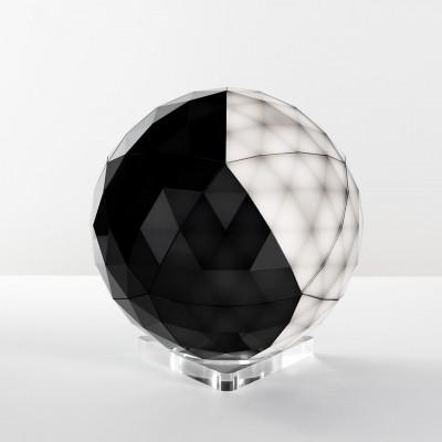 Artemide - Light Design - Huara TL LED - Touch on/off lamp - Black - LS-AR-0160010APP - Warm white - 3000 K - Diffused