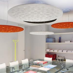 Artemide - Light Design - Silent Field 2.0 SP LED - Sound absorbing lamp
