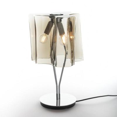 Artemide - Logico - Logico TL - Modern table lamp - Fumé - LS-AR-0457110A