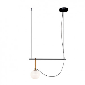 Artemide - NH - NH S1 14 SP - Small design chandelier, lampshade size 14