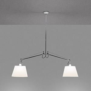 Artemide - Tolomeo - Tolomeo Basculante SP 2 Bracci 24 - Chandelier with arms