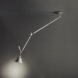 Artemide - Tolomeo - Tolomeo DC SP Alu  - Aluminum chandelier