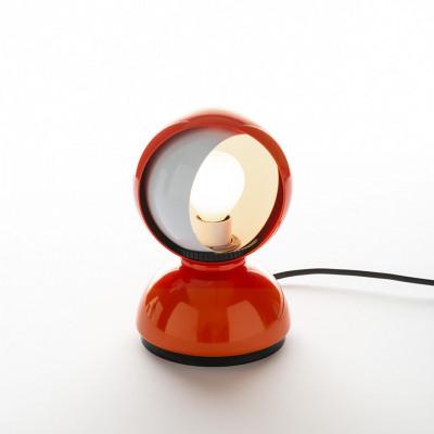 Artemide - Vintage - Vintage lamps - Eclisse TL - 60's table lamp - Orange - LS-AR-0028050A