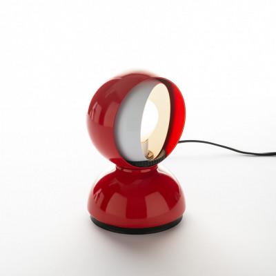 Artemide - Vintage - Vintage lamps - Eclisse TL - 60's table lamp - Red - LS-AR-0028030A