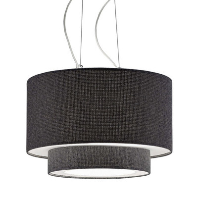 Artempo - Morfeo - Morfeo SP - Fabric Pendant Lamp - Dark fabric - LS-AT-182-TS