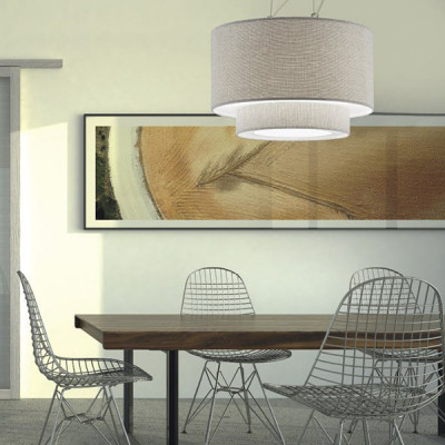 Artempo - Morfeo - Morfeo SP - Fabric Pendant Lamp - Light fabric - LS-AT-182-TC