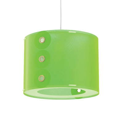 Artempo - Pendant lamps in Polilux - Rotho SP - Colored pendant lamp - Green - LS-AT-070-V