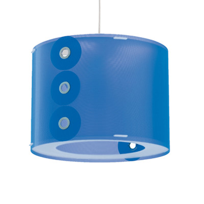 Artempo - Pendant lamps in Polilux - Rotho SP - Colored pendant lamp - Polilux Blue - LS-AT-070-BLU