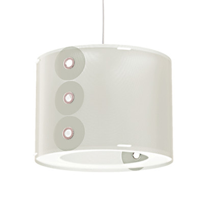 Artempo - Pendant lamps in Polilux - Rotho SP - Colored pendant lamp - White - LS-AT-070-B