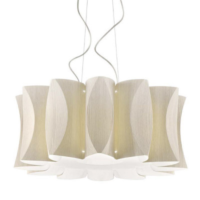 Artempo Virus Maxi Sp L Large Modern Pendant Lamp Larch Ice