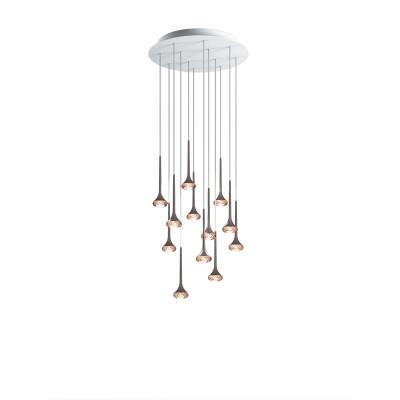 Axo Light -  - Fairy 12 SP LED - Modern chandelier - Amber - LS-AX-SPFAIR12AMCRLED - Super warm - 2700 K - Diffused