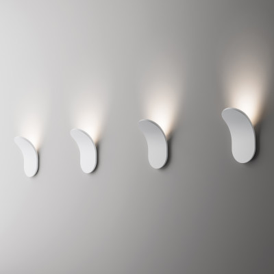 Axo Light -  - Lik AP LED - Design wall light - White - LS-AX-APLIKXXXBCXXLED - Warm white - 3000 K - Diffused