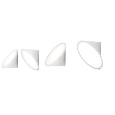 Axo Light -  - Orchid AP LED - Contemporary wall light - White - LS-AX-APORCHIDBCXXLED - Warm white - 3000 K - Diffused