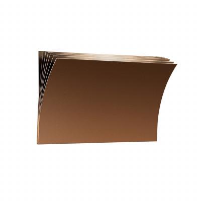 Axo Light -  - Polia AP L LED - Design wall light - Brown - LS-AX-APPOLIAGCOXXLED - Warm white - 3000 K - Diffused
