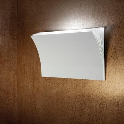 Axo Light -  - Polia AP L LED - Design wall light - White - LS-AX-APPOLIAGBCXXLED - Warm white - 3000 K - Diffused