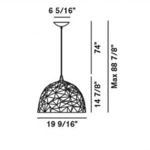 Diesel with Foscarini - Rock - Diesel Rock sospensione pendant light