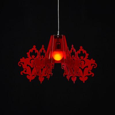 Emporium - Amarilli - Amarilli - Pendant lamp - Red - LS-EM-CL481-51