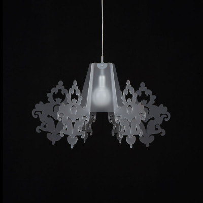 Emporium - Amarilli - Amarilli - Pendant lamp - Satin white - LS-EM-CL481-12