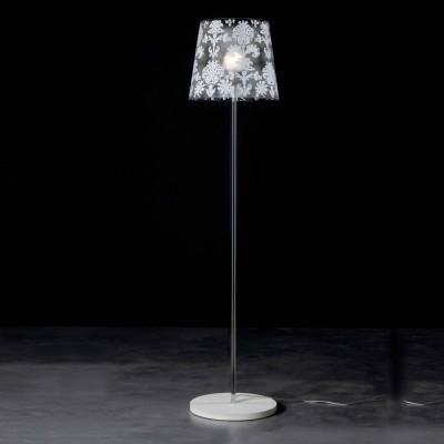 Emporium - Babette - Babette floor - Floor lamp - Silver - LS-EM-CL432-33