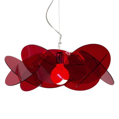 Emporium - Bea - Bea - Pendant lamp - Red - LS-EM-CL178-51