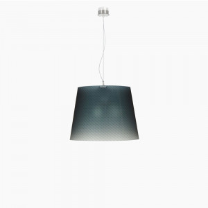Emporium - Boemia - Boemia SP L - Suspension lamp with diamond-effect lampshade
