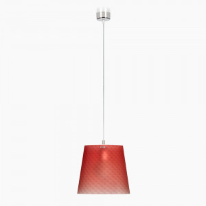 Emporium - Boemia - Boemia SP S - Suspension lamp with diamond-effect lampshade